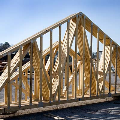 Wood trusses in Richmond Virginia