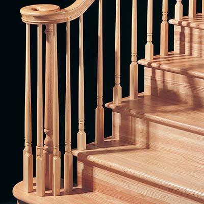 lumber wood railing in Richmond VA